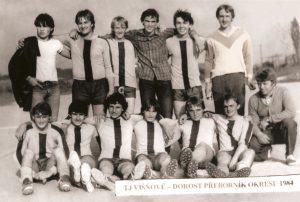 Dorost přeborník okresu 1984